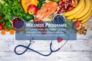 Wellness programs can be created by our nationaly accredited staff