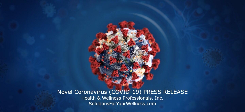 Coronavirus (COVID-19) PRESS RELEASE