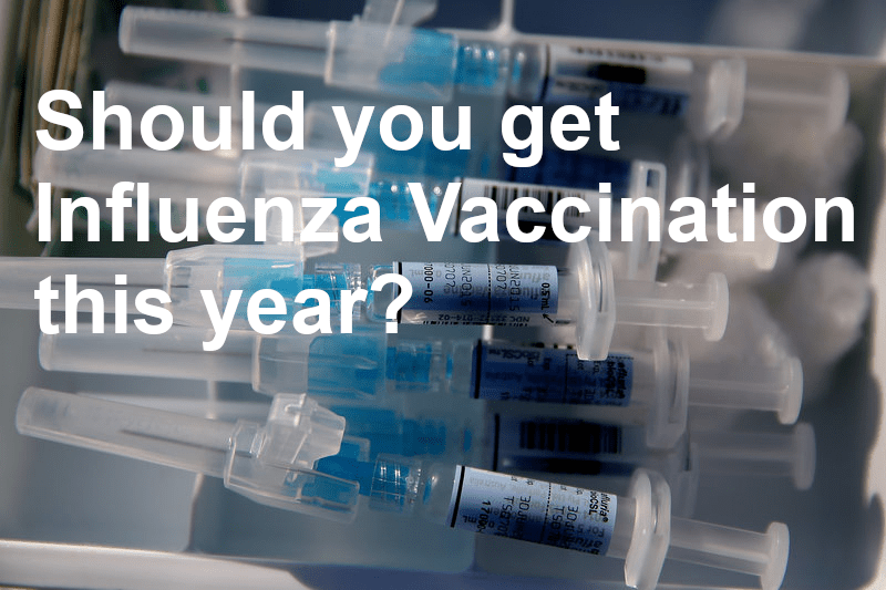 Should you get your Influenza Vaccination this year?